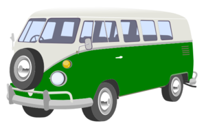 Green Van Clip Art at Clker.com.