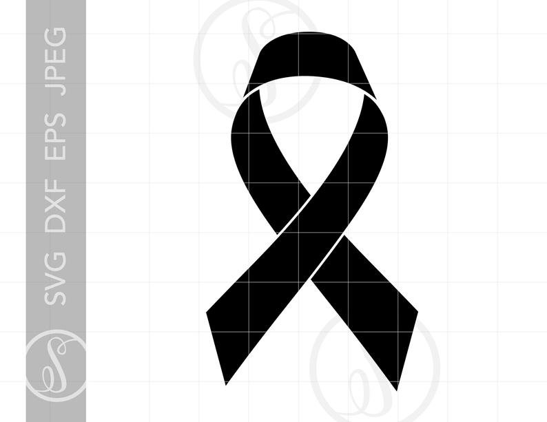 Cancer Ribbon SVG.