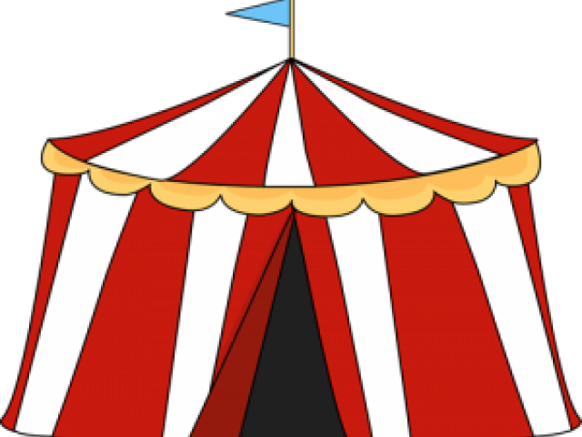 Carnival Tent Clip Art , Transparent Cartoon.