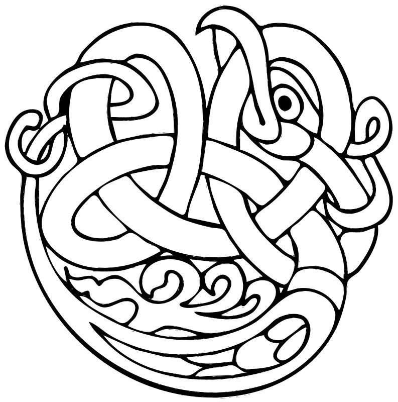 Free Clipart: Celtic ornament.