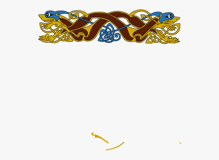 Celtic Border Design Svg Clip Arts 600 X 593 Px.