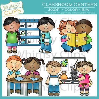 Classroom Centers Clip Art.