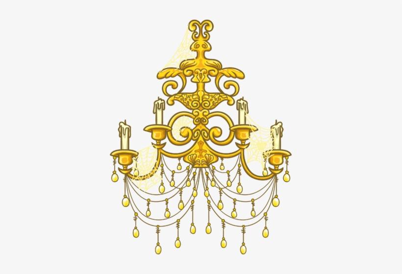 Gold Chandelier Sprite 003.