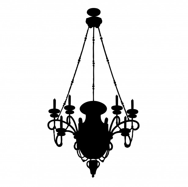 Chandelier Clipart Free Stock Photo.