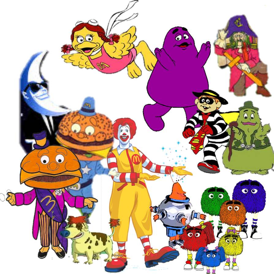 Download for free 10 PNG Mcdonalds clipart character Images With.