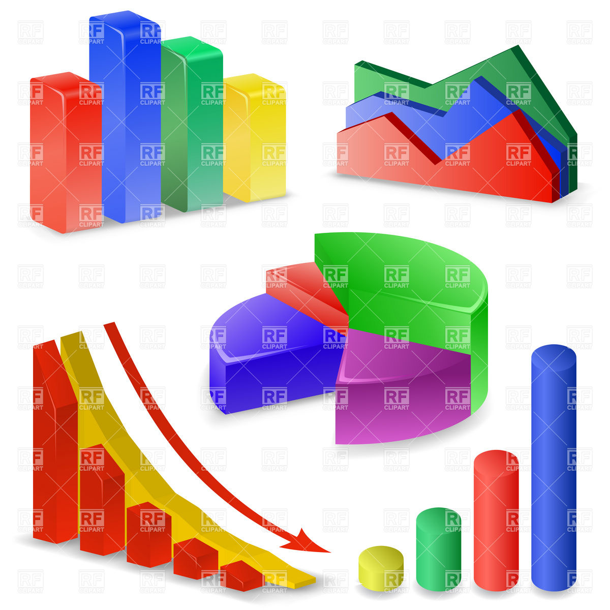 Charts and Graphs Collection.