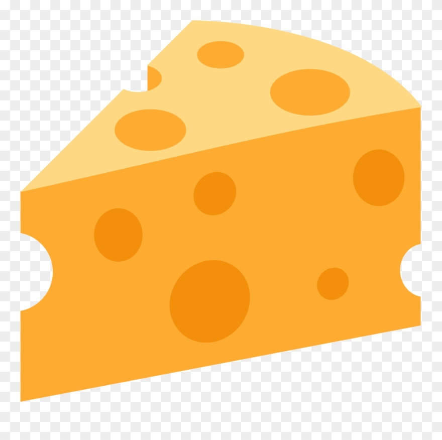 Dairy Clipart Cheese Wedge.