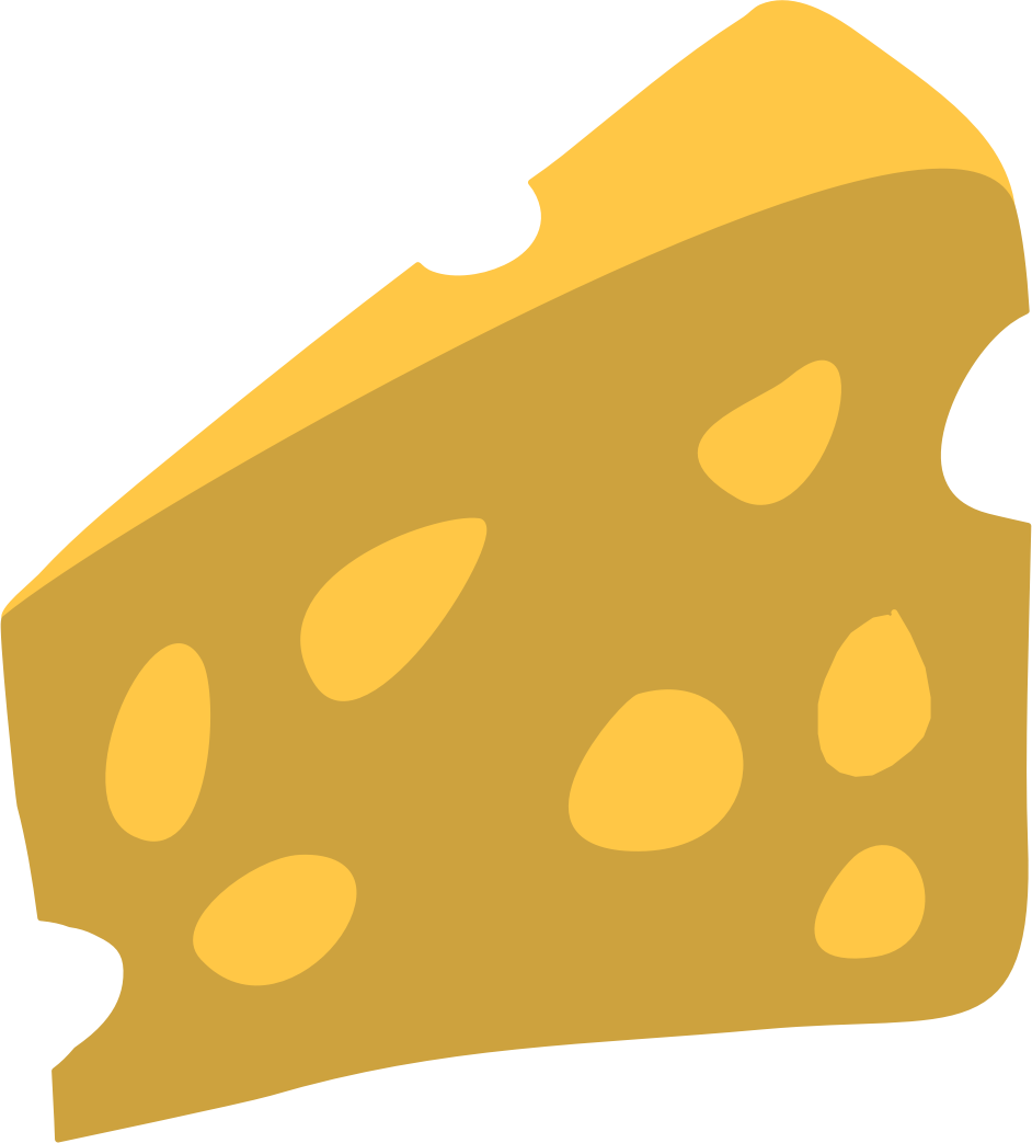 free Cheese clipart by @ChihuahuaDesign, Cheese svg, Cheese clipart.