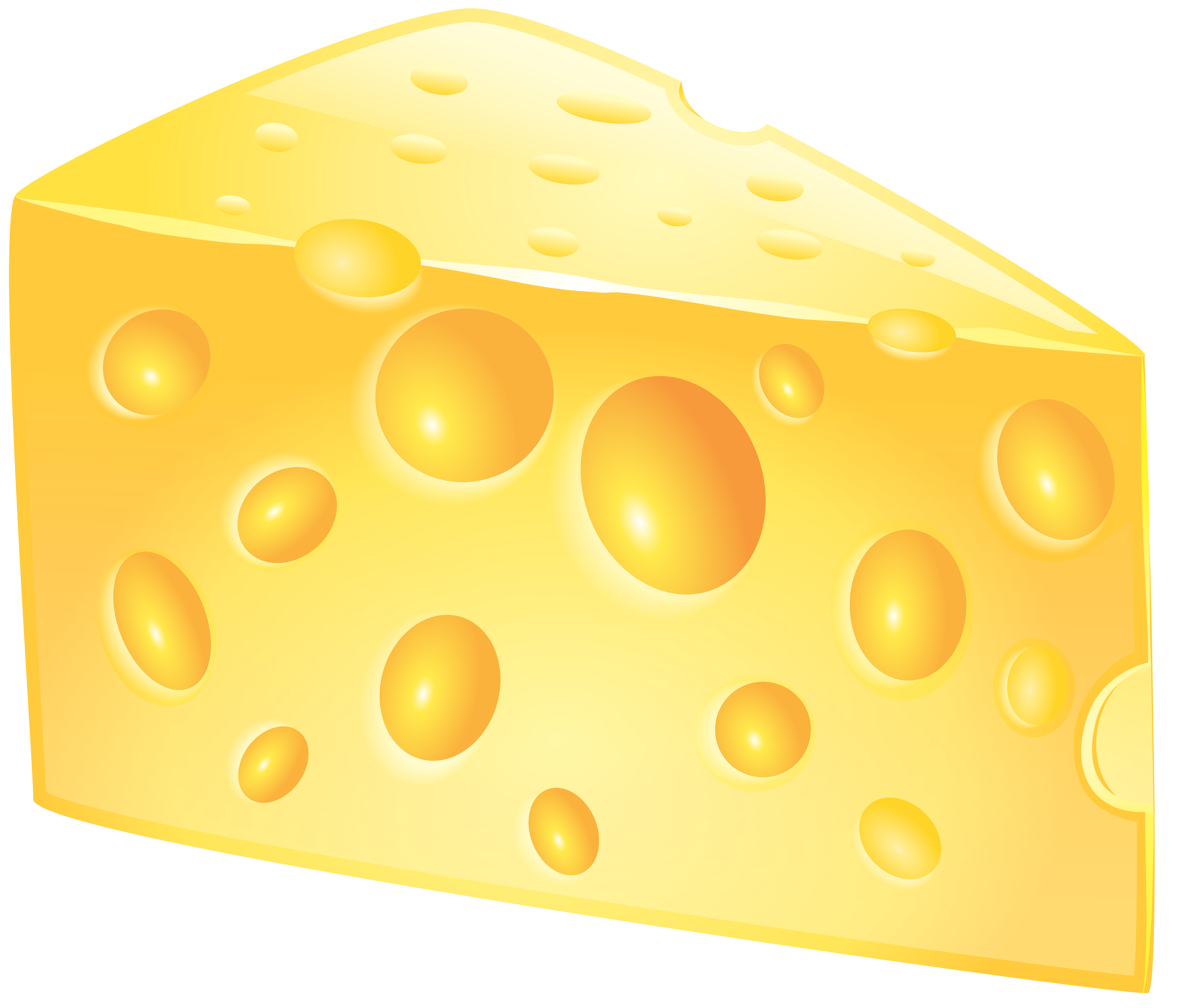 Cheese PNG Clip Art Image.