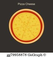 Cheese Pizza Clip Art.