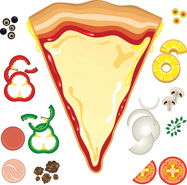 Best Cheese Pizza Slice Illustrations, Royalty.