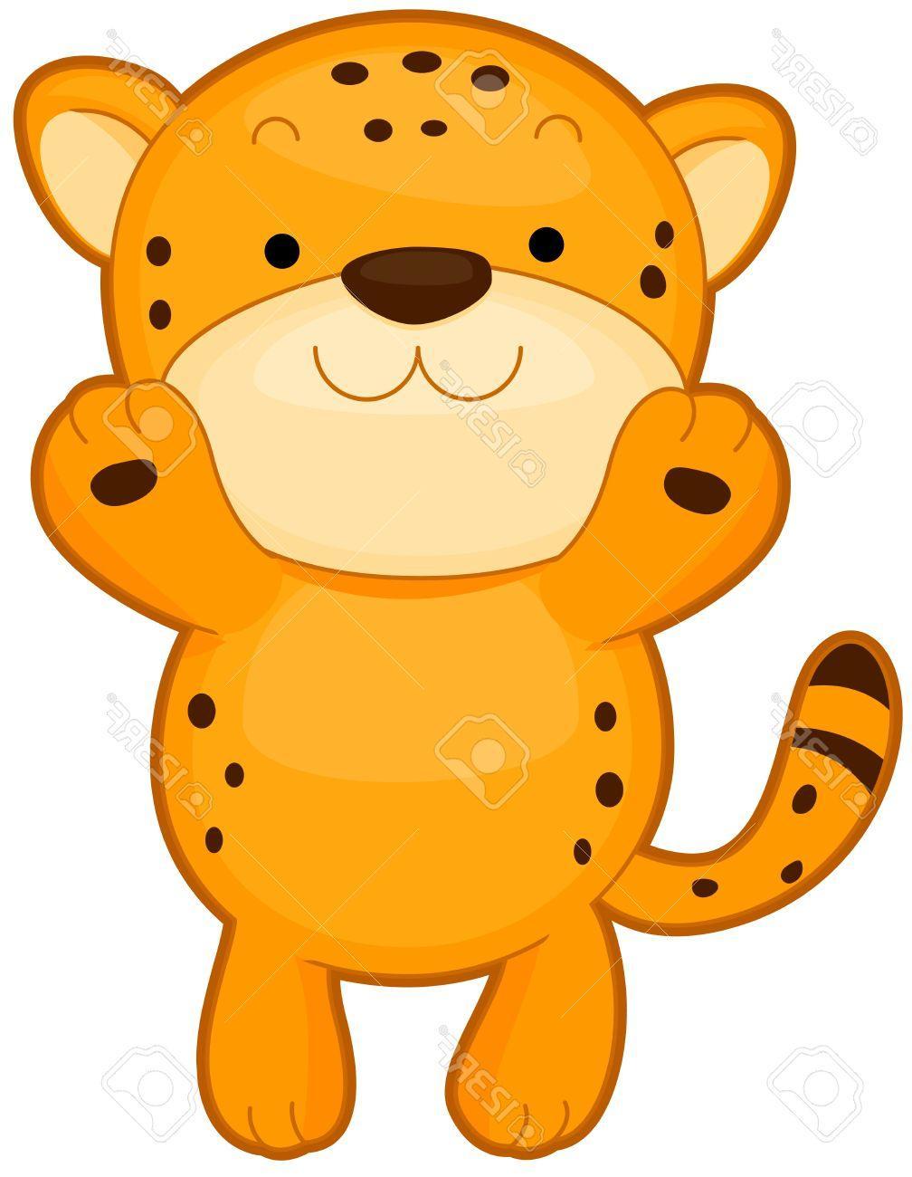 Unique Cute Cheetah Clip Art File Free » Free Vector Art, Images.