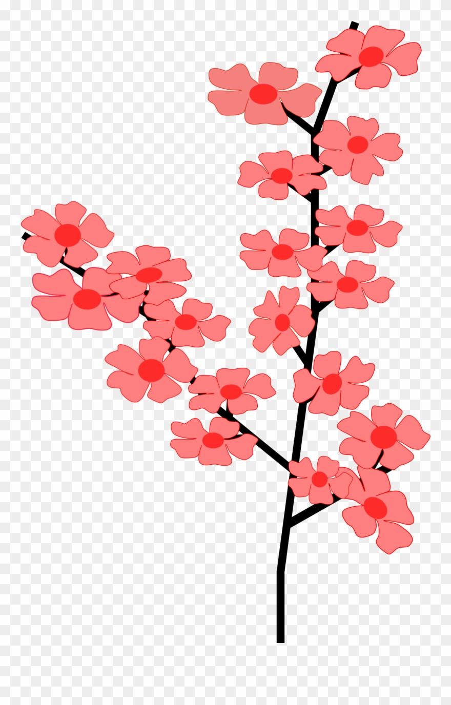 Flowers Sakura 2 Png Clip Arts.