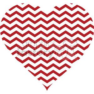 chevron heart design pattern gray clipart. Royalty.