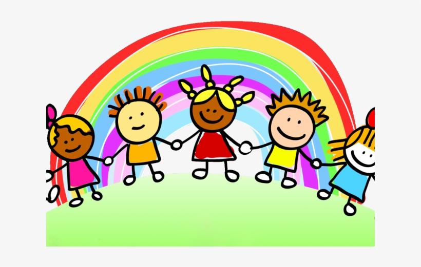 Rainbow Clipart Child.