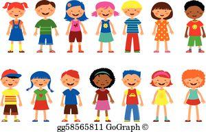 Children School Clip Art.