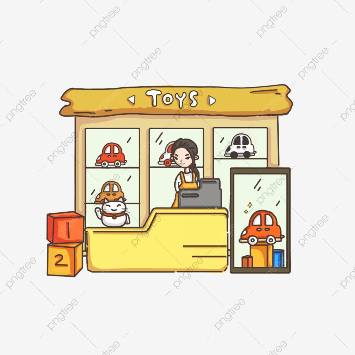 Cartoon Childrens Toys, Cartoon Clipart, Toys Clipart, Toys Heap PNG.