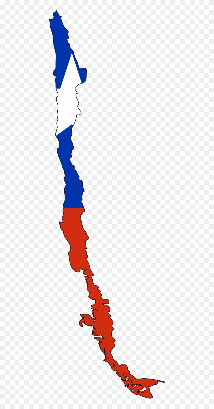 Chile Flag Clipart Hd.