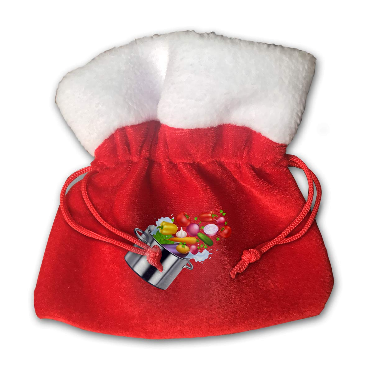 Amazon.com: XFEQAZV Pot of Chili Clipart Personalized Bag Christmas.
