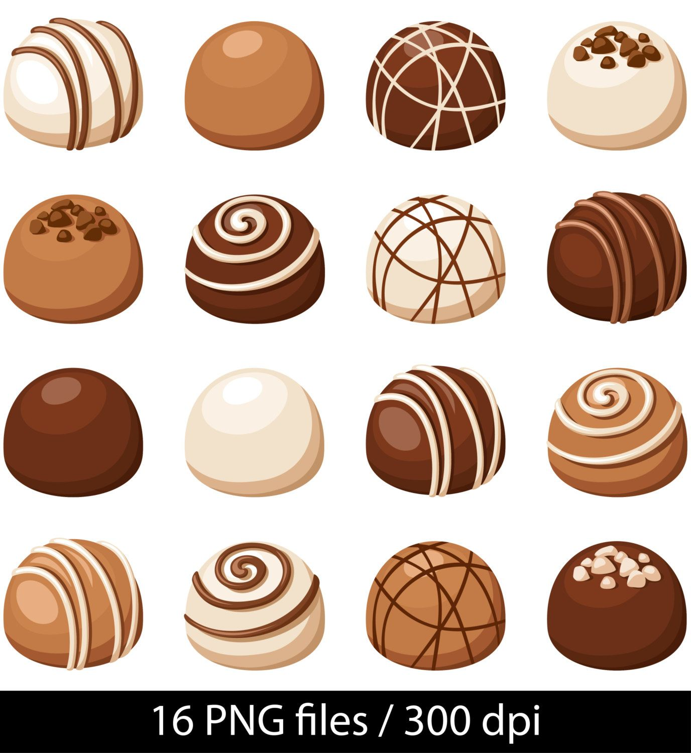 Chocolate Candy Clipart (103+ images in Collection) Page 1.