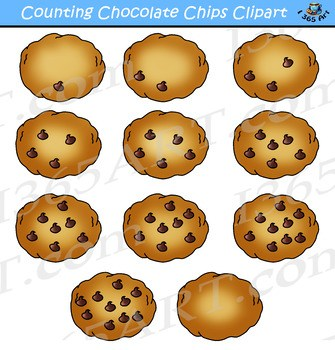 Clipart chocolate chip cookies 1 » Clipart Portal.