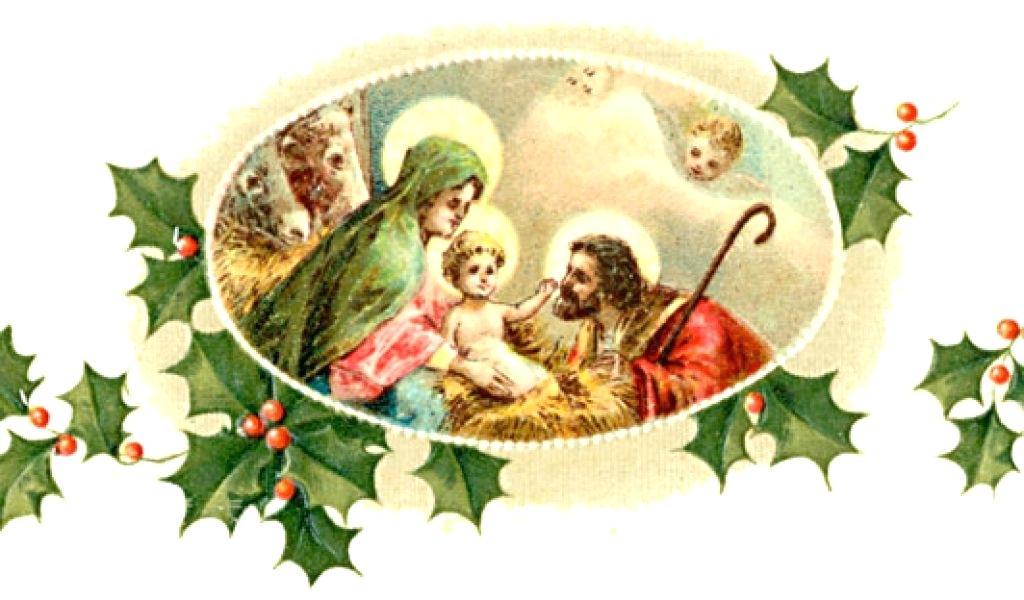 religious christmas art.