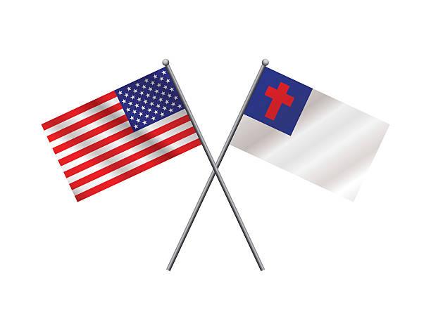 Best Christian Flag Illustrations, Royalty.