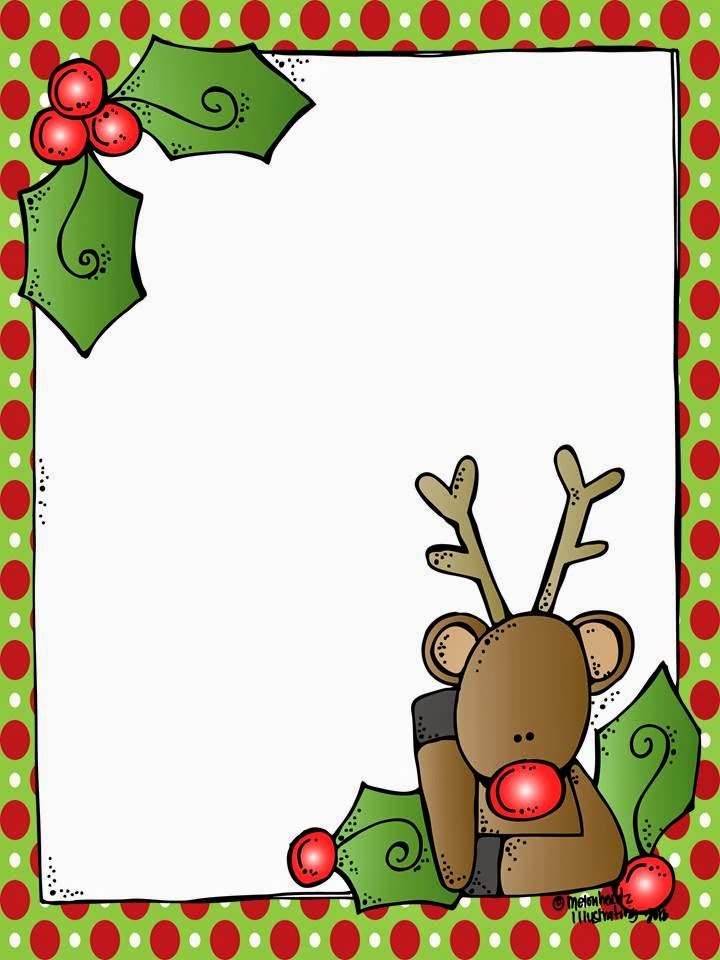 Christmas Borders For Letters Clipart.