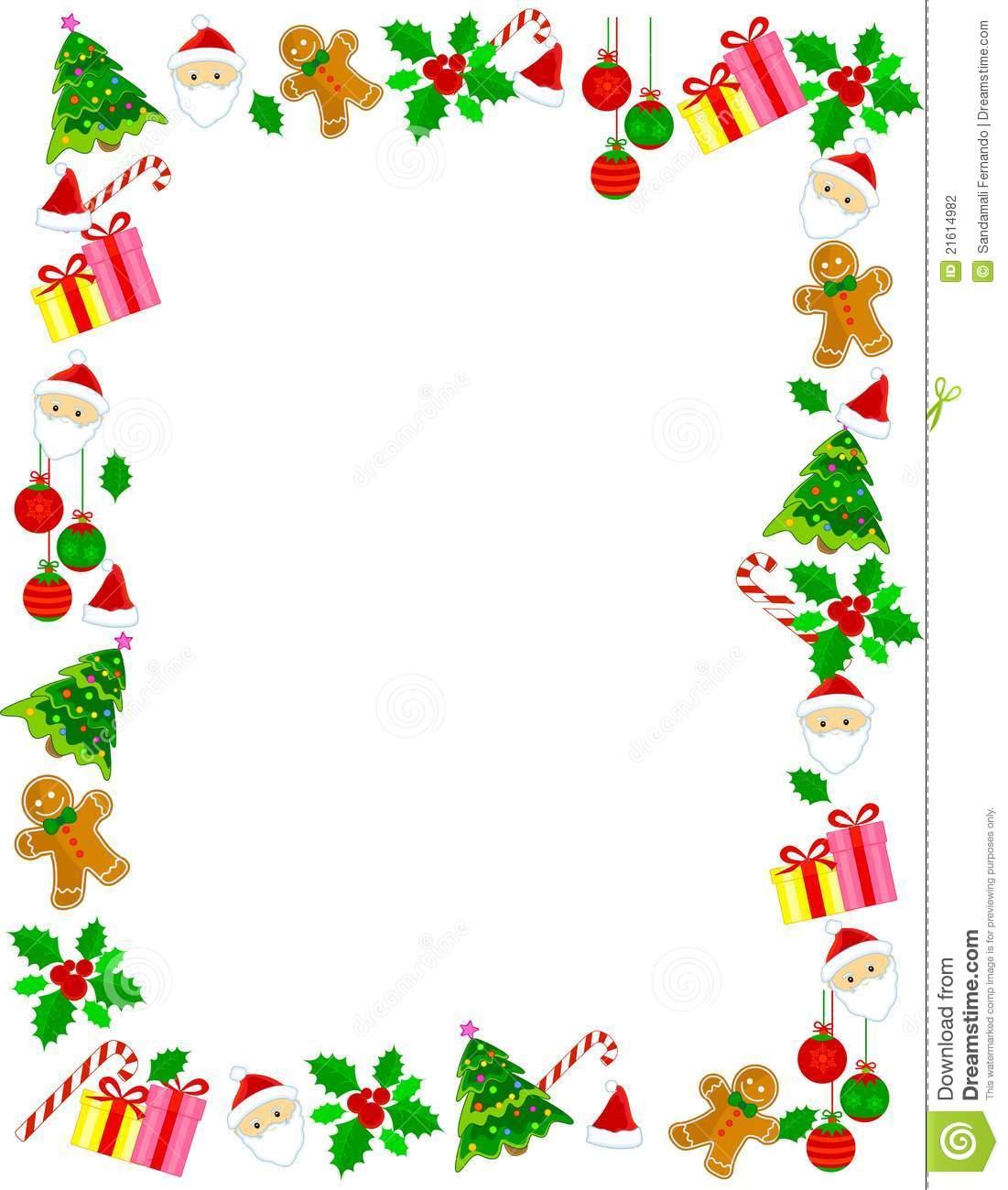 Christmas border frame illustration megapixl jpg.