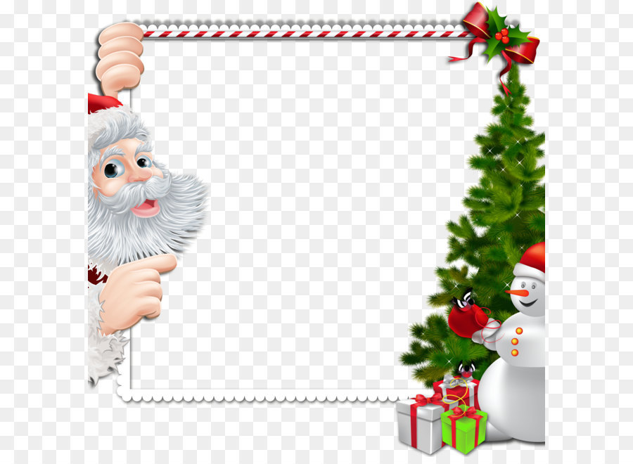 Free Santa Border Png & Free Santa Border.png Transparent Images.