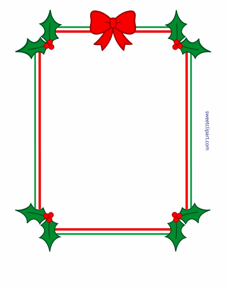 Clipart Royalty Free Download Christmas Border Frame Free PNG Images.