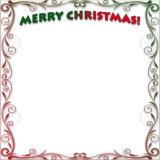 Christmas borders and frames clipart 5 » Clipart Portal.