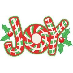 Christmas clip art candy cane.