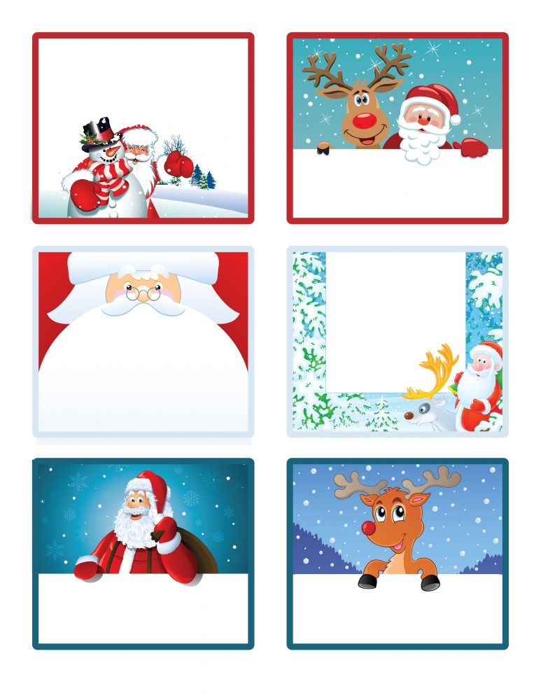 47 Free Printable Christmas Gift Tags (That You Can Edit and.