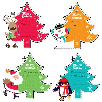 Christmas Tree Tags.