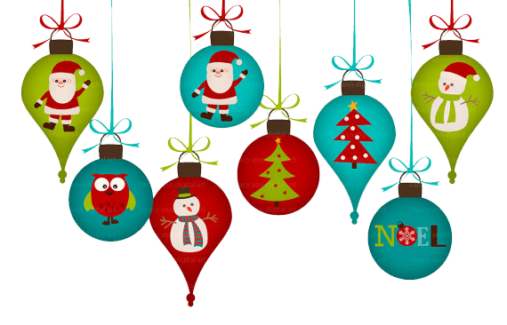 Download Christmas Ornaments PNG Clipart.
