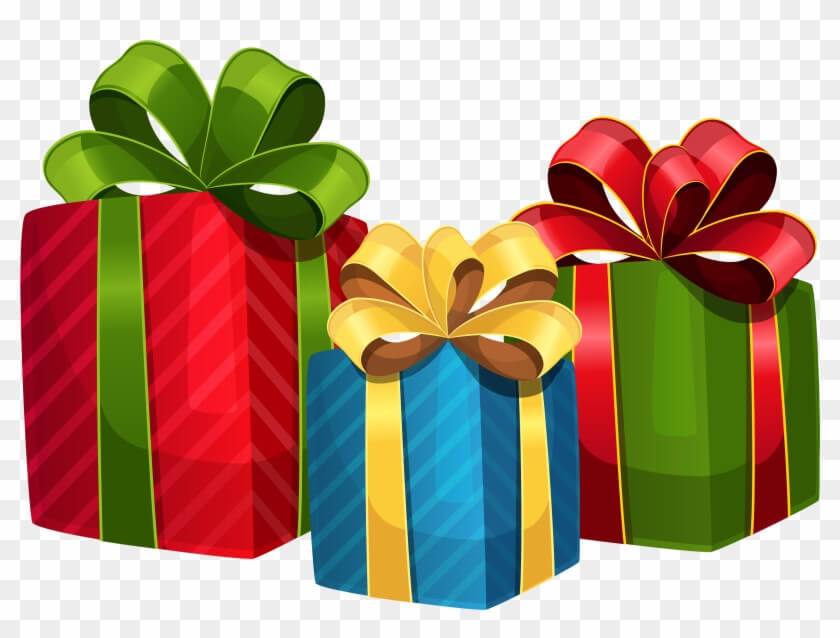 Christmas Gifts Clipart.