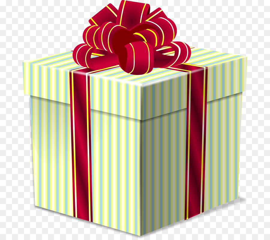 Christmas Gift Box clipart.