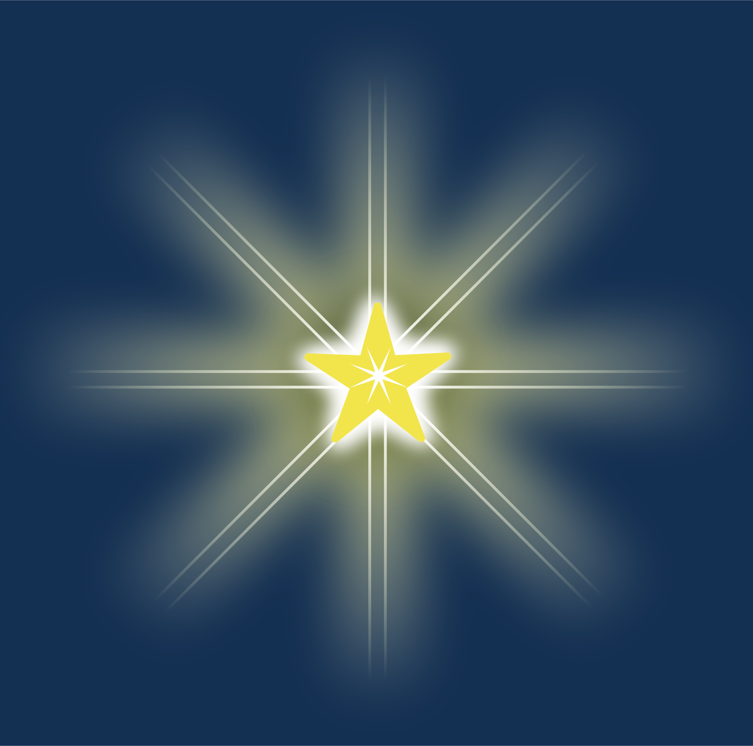 Clipart christmas star image #24753.