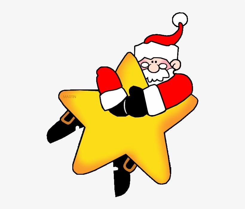 Christmas Star Clip Art Clipart Santa Claus Christmas.