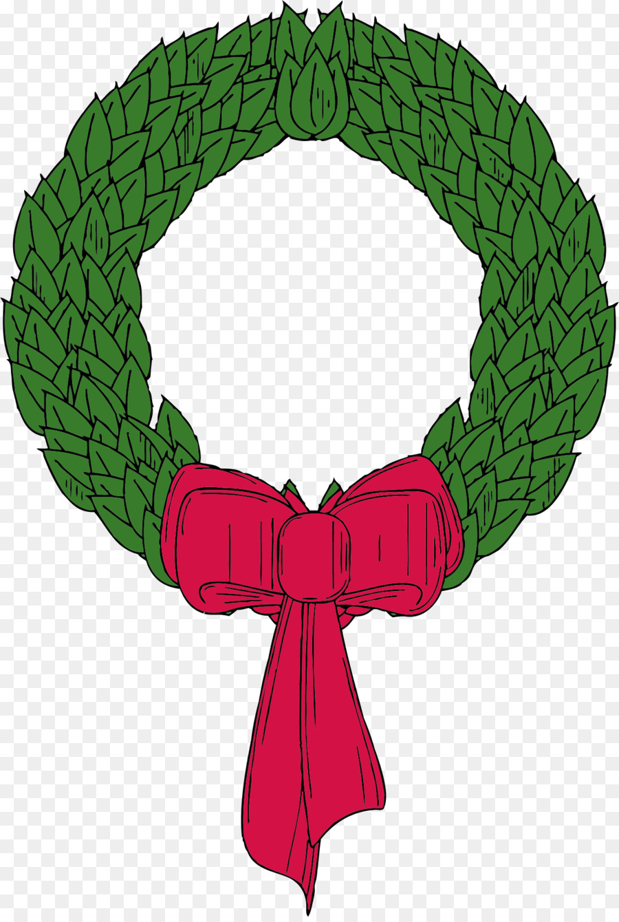 Christmas Wreath Drawingtransparent png image & clipart free download.