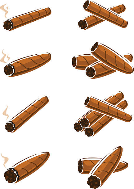 Best Cigars Illustrations, Royalty.