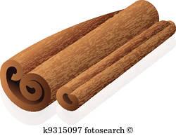 Cinnamon Vectors.