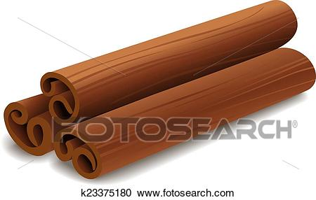 Cinnamon Clipart.