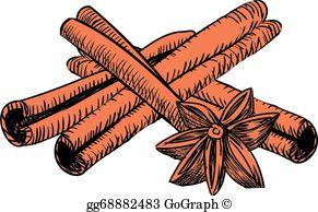 Cinnamon Clip Art.