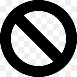 Free download Slash No symbol Sign Clip art.
