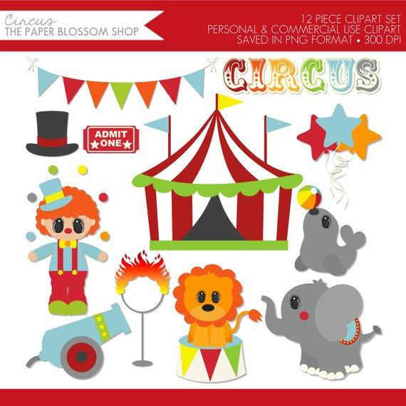 Circus Clipart,Circus Clip Art,Carnival Clipart,Big Top Clipart.