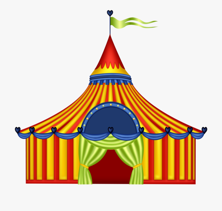 Marquee Clipart Circus Tent.