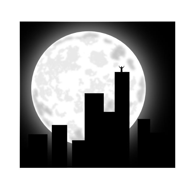 City Buildings Clipart.