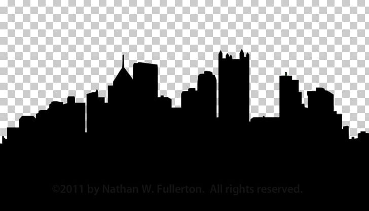 Pittsburgh Skyline Silhouette PNG, Clipart, Art, Art City, Black And.